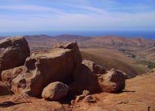 Morro Jable Foto de archivo libre de regalías