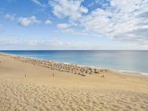 Morro Jable beach Royalty Free Stock Photography