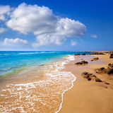 Morro Jable beach Fuerteventura Canary Islands Stock Photos