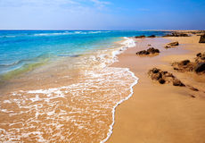 Morro Jable beach Fuerteventura Canary Islands Stock Image