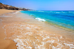 Morro Jable beach Fuerteventura Canary Islands Stock Photo