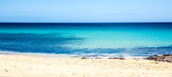 Morro Jable beach Stock Image