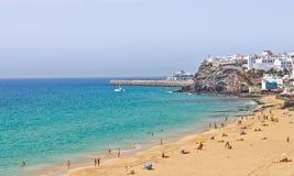 Morro Jable beach and resort. Fuerteventura Royalty Free Stock Photo