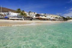 MORRO JABLE, FUERTEVENTURA SPAIN - OCTOBER 22, 2017: Beach Playa Stock Image