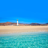Morro Jable Matorral beach Jandia in Fuerteventura Stock Photography