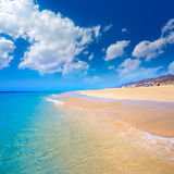 Morro Jable Matorral beach Jandia in Fuerteventura Royalty Free Stock Photos