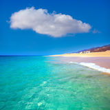 Morro Jable Matorral beach Jandia in Fuerteventura Royalty Free Stock Photography