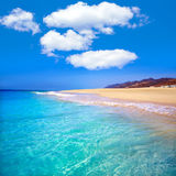 Morro Jable Matorral beach Jandia in Fuerteventura Stock Images