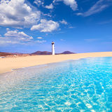 Morro Jable Matorral beach Jandia in Fuerteventura Stock Photo
