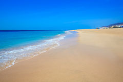 Morro Jable Matorral beach Jandia in Fuerteventura. Morro Jable Matorral beach Jandia in Pajara of Fuerteventura at Canary Islands Stock Photography