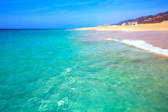 Morro Jable Matorral beach Jandia in Fuerteventura Royalty Free Stock Photo
