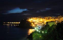 Morro Jable at night Stock Image