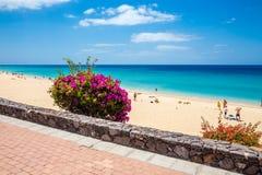 Morro Jable Strand stockfoto