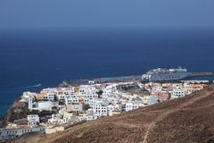 Morro Jable view, Fuerteventura Royalty Free Stock Images