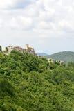 Morro Reatino, итальянская деревня Стоковое Изображение RF