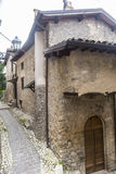 Morro Reatino, итальянская деревня Стоковое Фото