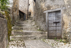 Morro Reatino, italian village Royalty Free Stock Photos