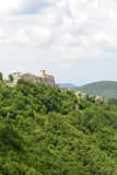Morro Reatino, italiensk by Royaltyfri Bild