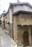 Morro Reatino, villaggio italiano Fotografia Stock