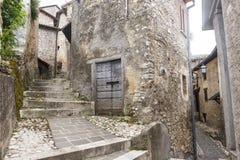Morro Reatino, włoska wioska Obraz Royalty Free