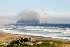 Morro Rock Royalty Free Stock Photo
