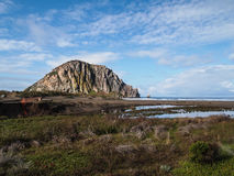 Morro rock bay Royalty Free Stock Photos