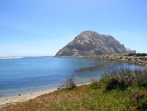 Morro Rock Royalty Free Stock Images