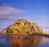 Morro Rock Exposition - Morro Bay, CA Stock Photography