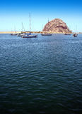 Morro Rock II Royalty Free Stock Photography