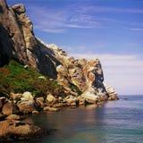 Morro Rock Profile Stock Images