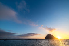 Morro Rock Royalty Free Stock Image