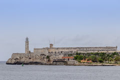 Morro-Schloss in Havana, Kuba Lizenzfreies Stockbild