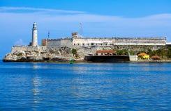 Morro slott, Havana, Kuba Arkivfoto