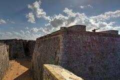 Morro slott - havannacigarr, Kuba Arkivbild