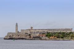 Morro slott i havannacigarren, Kuba Royaltyfri Bild