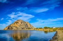 Morro stein- Kalifornien Lizenzfreies Stockfoto