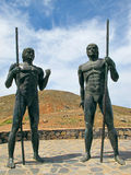 Morro Velosa Statues Stock Images