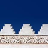 Morrocan Architekturauslegung Stockfotografie