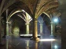 Morrocan arkitektonisk cistern Arkivfoto