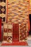 Morrocan carpets Essaouira souk Royalty Free Stock Image
