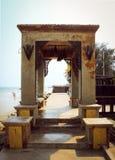Morrocan hall Stock Photo