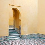 Morrocan Haus Stockfotografie