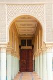 Morrocan kolonnarkitektur Royaltyfria Bilder