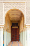 Morrocan kolumny architektura Obrazy Royalty Free