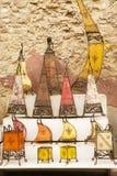 Morrocan lampshades royalty free stock photos