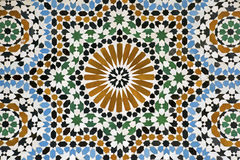 Morrocan mosaic tiles Stock Photo