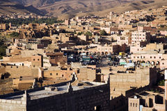 Morrocan town royalty free stock photos