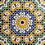 Morrocan traditional mosaic background Royalty Free Stock Image