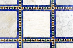 Morrocan traditional mosaic background Stock Photo