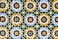 Morrocan traditional mosaic background Stock Images